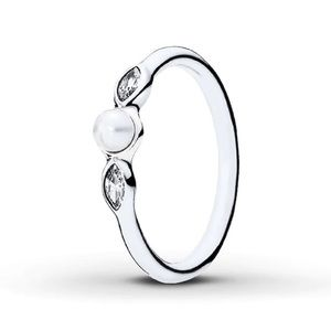 AUTHENTIC PANDORA Pearl Ring Size 52